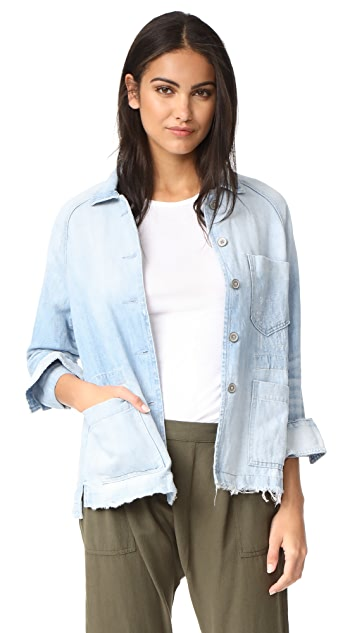 Baldwin Denim Renee Raglan Chore Jacket