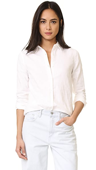 Baldwin Denim Mila Classic Shirt - White