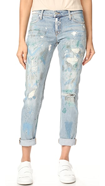 Baldwin Denim Kennedy Mid Rise Boyfriend Jeans