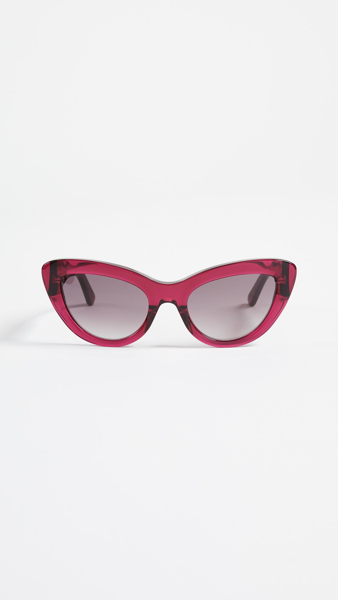 Balenciaga Bold Cat Eye Sunglasses Shopbop Save Up To 25 Use Code Balen Top Pink More18