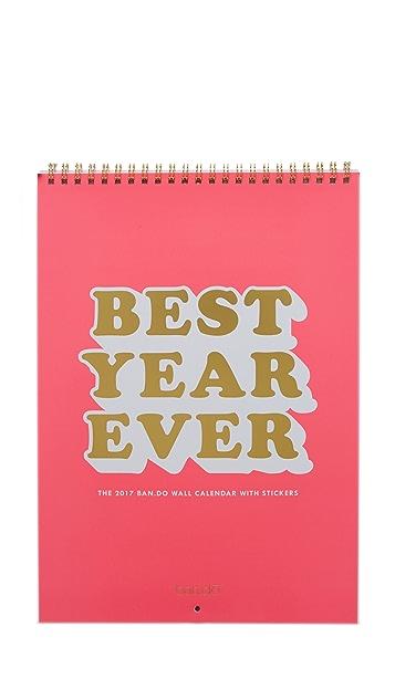 ban.do Best Year Ever Wall Calendar