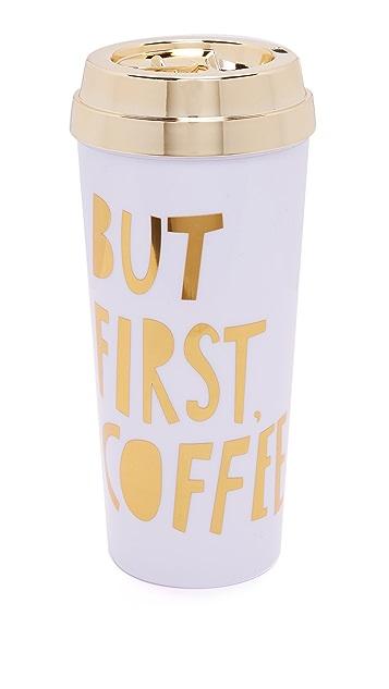ban.do But First Coffee Hot Stuff Thermal Mug
