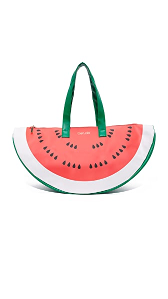 ban. do Watermelon Super Chill Cooler Bag In Red/Green