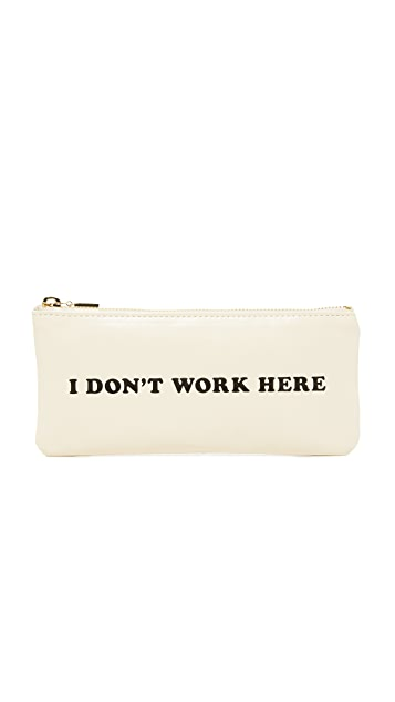 ban.do I Don't Work Here Pencil Pouch