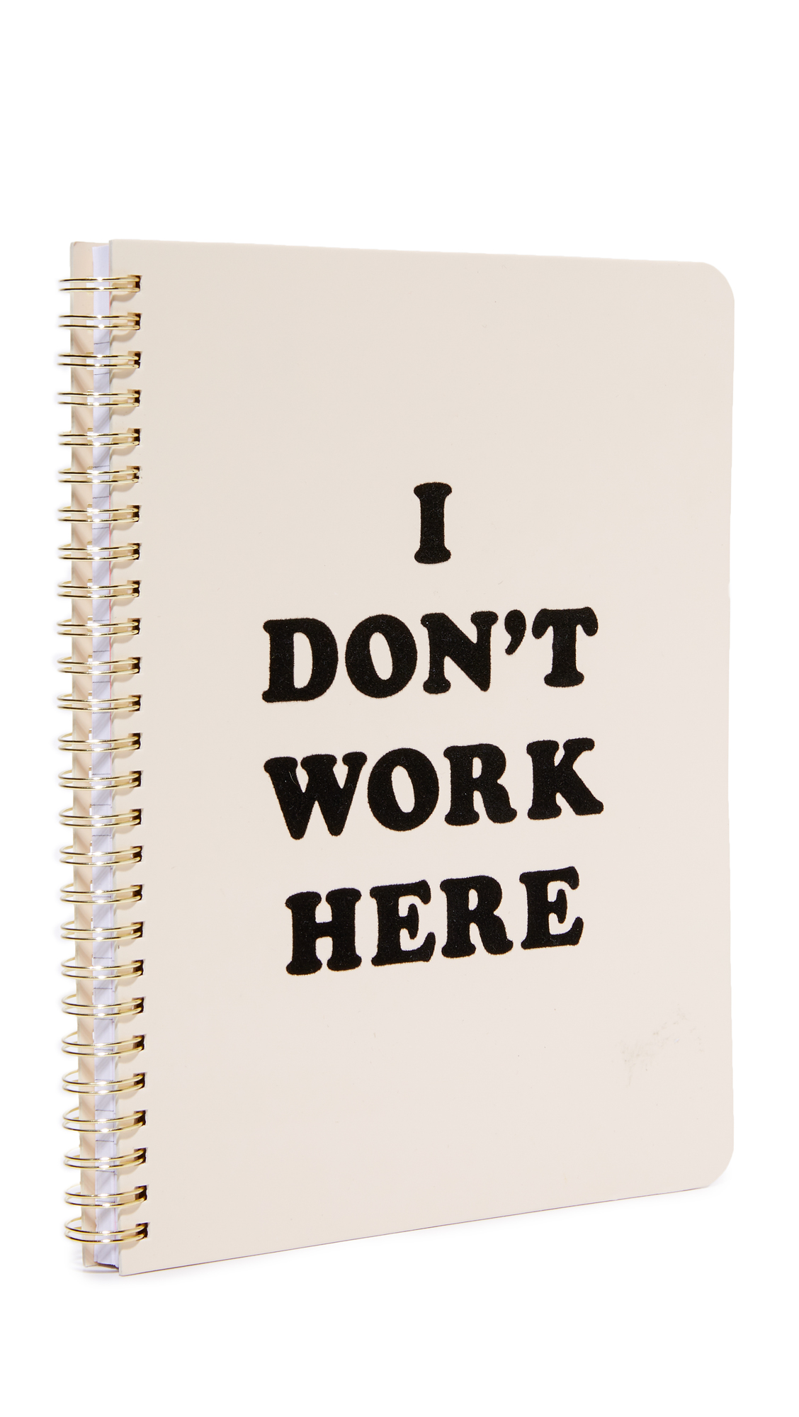 ban.do: I Don't Work Here Notebook