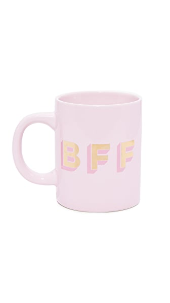 ban.do BFF Hot Stuff Ceramic Mug