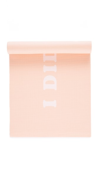 ban. do I Did My Best Exercise Mat In Peach