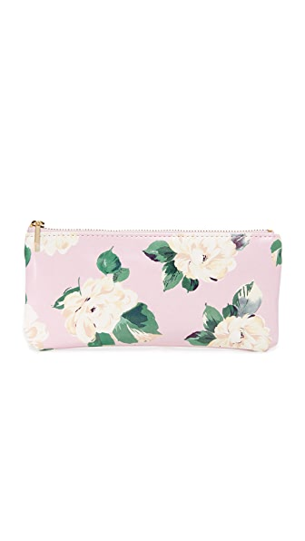 ban.do Lady Of Leisure Pencil Pouch - Pink Floral