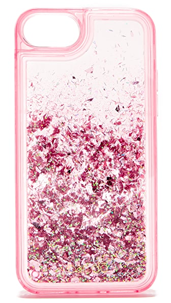 ban.do Glitter Bomb iPhone 7 Case - Pink Stardust