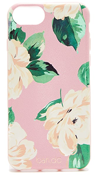 ban. do Lady of Leisure iPhone 7 Case In Pink Floral