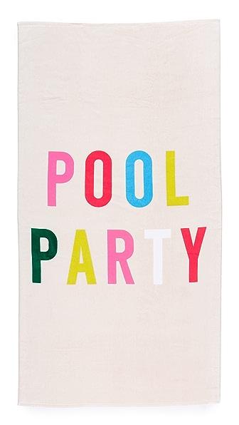 ban. do Pool Party Giant Beach Towel