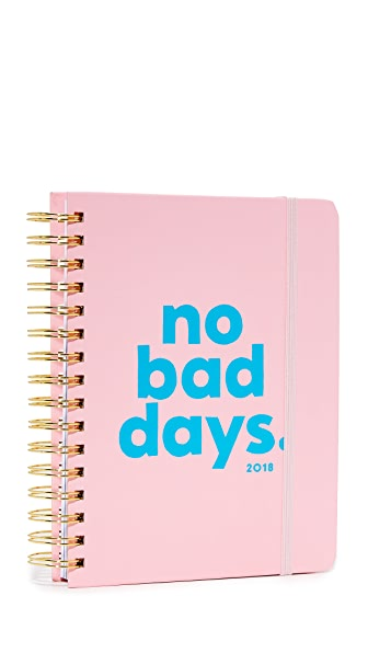 ban. do No Bad Days 17 Month 2018 Medium Agenda In Pink Multi