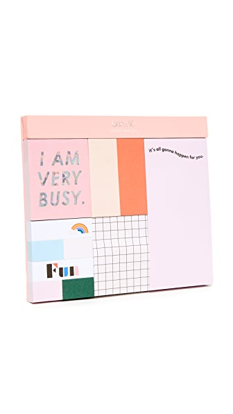ban.do Sticky Note Set - Multi