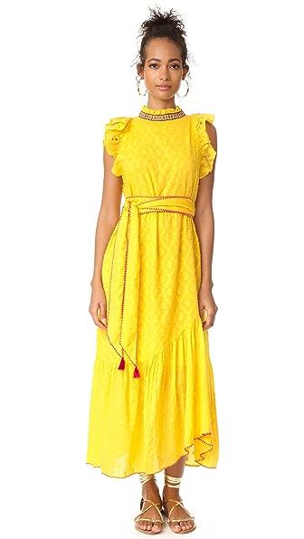 Banjanan Bulbul Dress In Sunshine