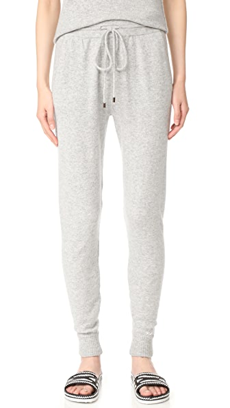Banjo & Matilda Cashmere Beach Pants In Heather Grey