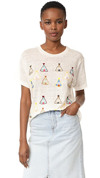 Banner Day Teepee Village Tee
