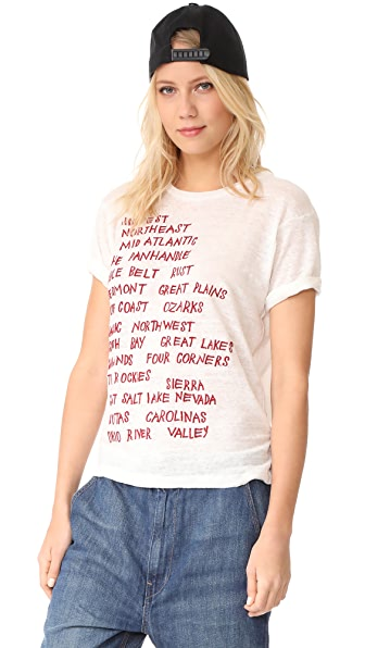 Banner Day United States Regions Tee