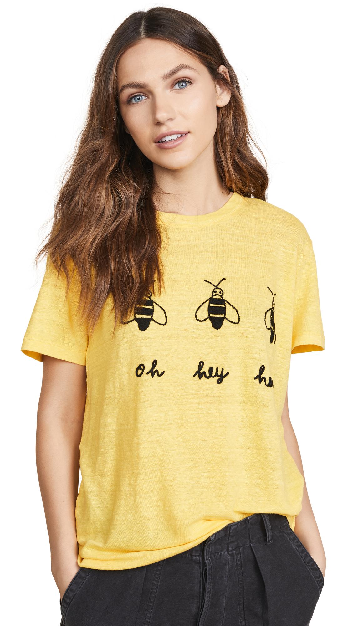 Banner Day Oh Hey Honey Tee - Yellow