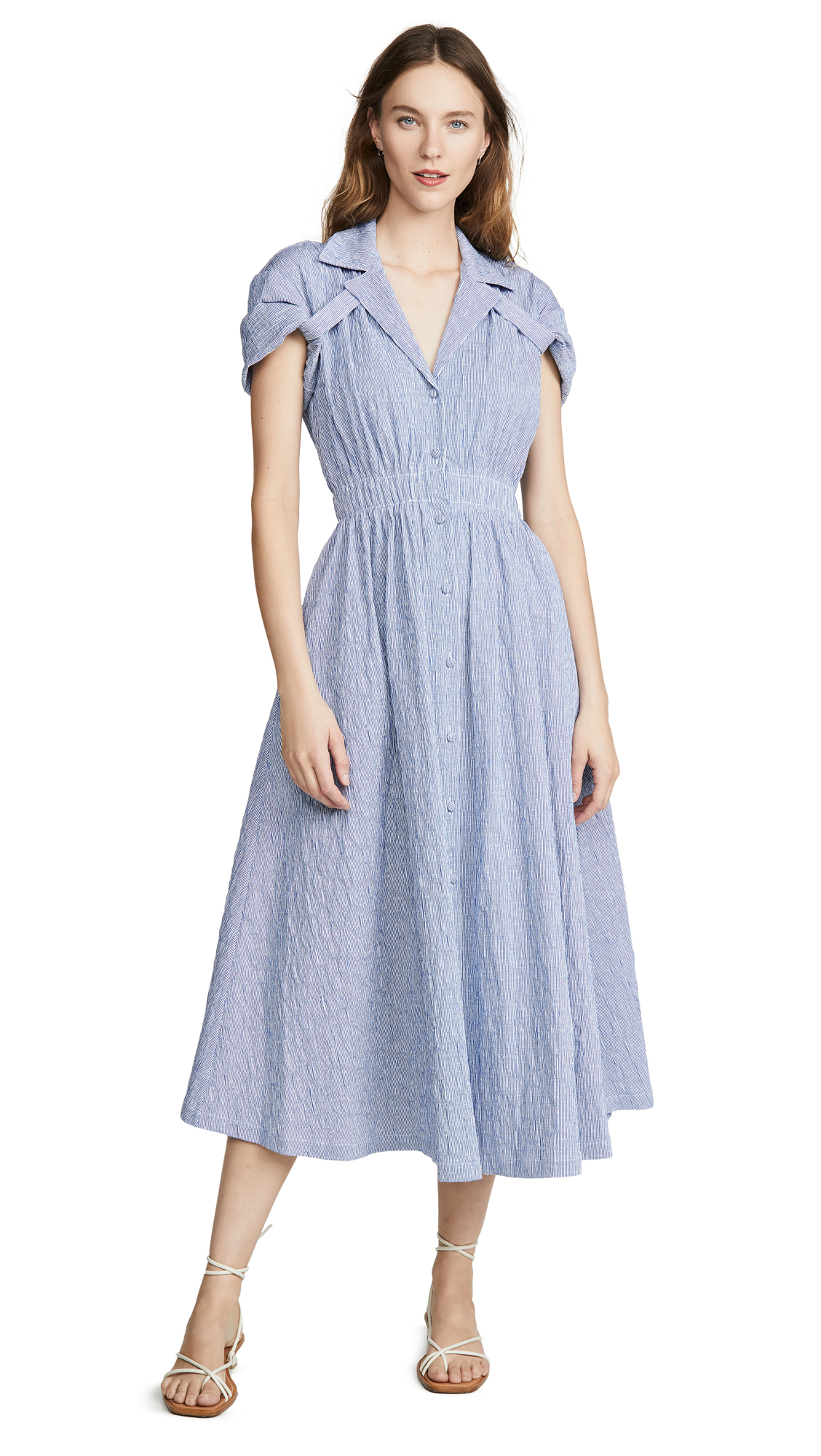 Buy By any Other Name Shirred Waist Tea Dress online beautiful By any Other Name Clothing, Dresses