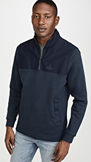 Barbour Cetus Half Zip Sweatshirt