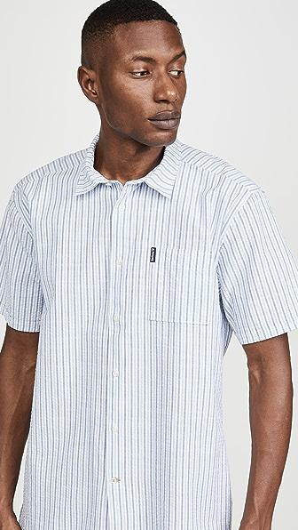 Barbour Seersucker 8 Summer Shirt