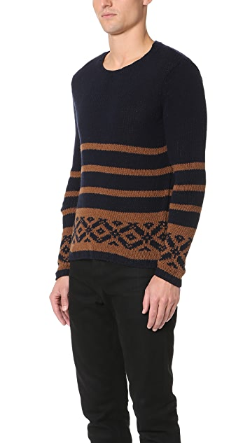 Barena Striped Crew Sweater