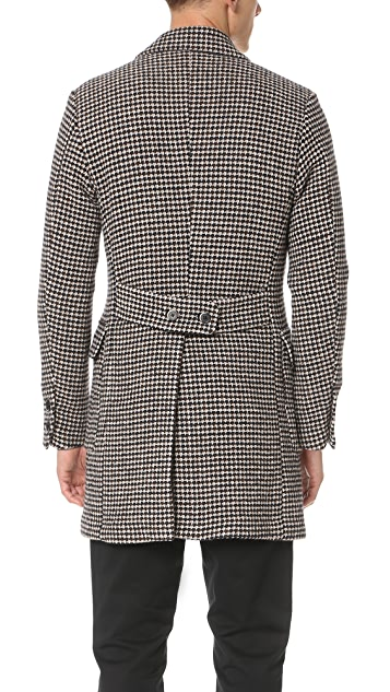 Barena Double Breasted Overcoat