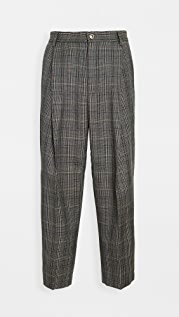Barena Venezia Tartana Pleated Trousers