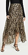 Ba&sh Jalvi Leopard Skirt