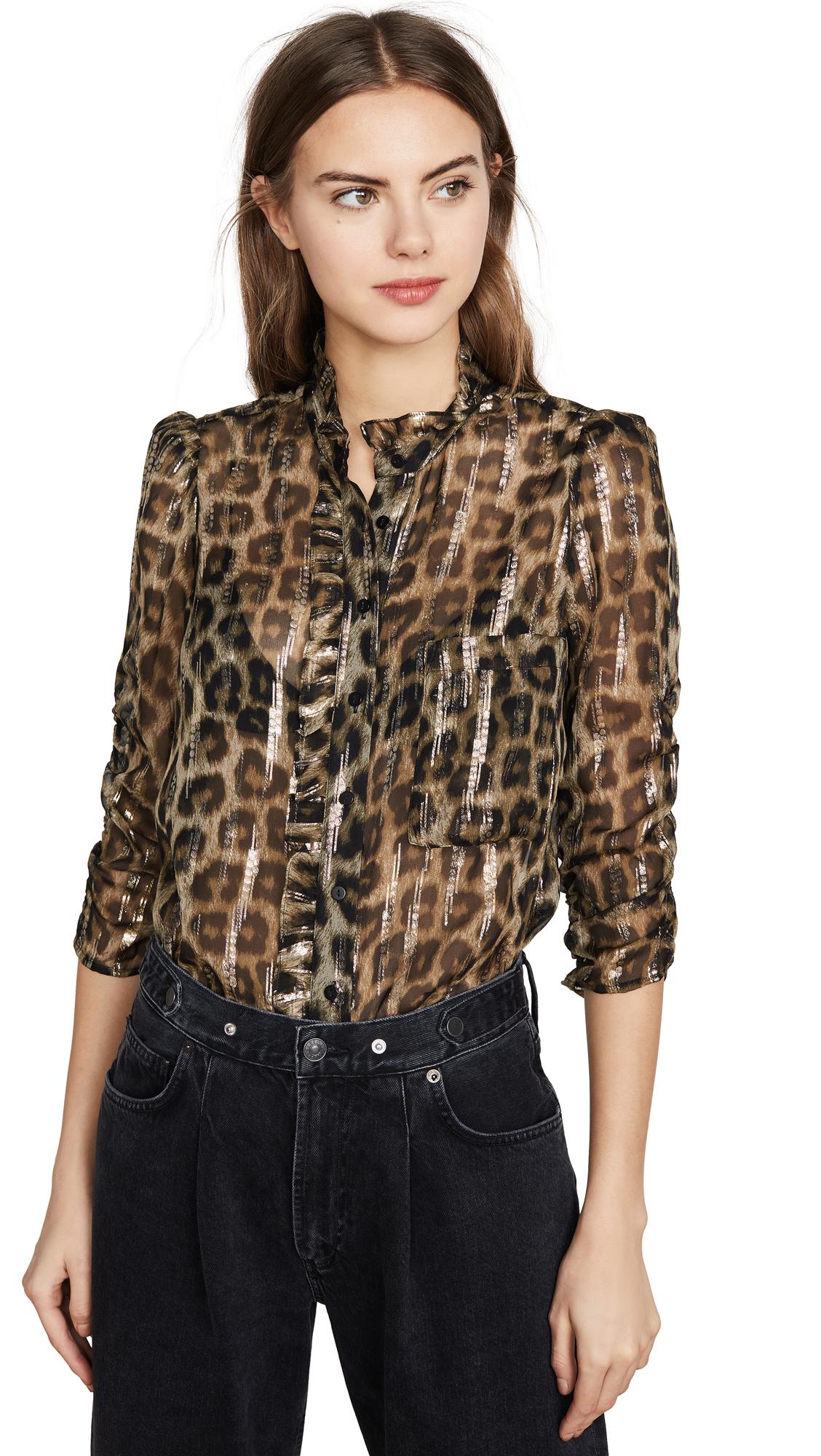 Buy Ba & sh online - photo of Ba & sh Leopard Blouse