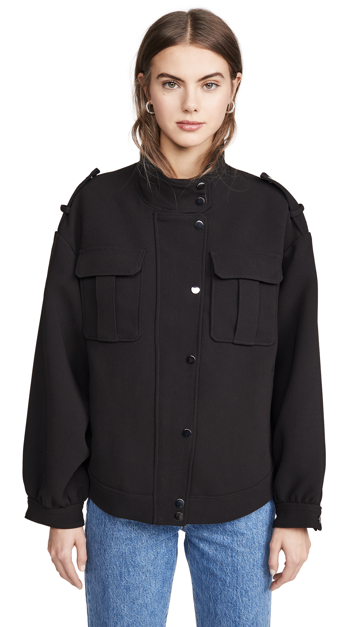 Buy Ba & sh Swing Jacket online beautiful Ba & sh Jackets, Coats, Down Jackets