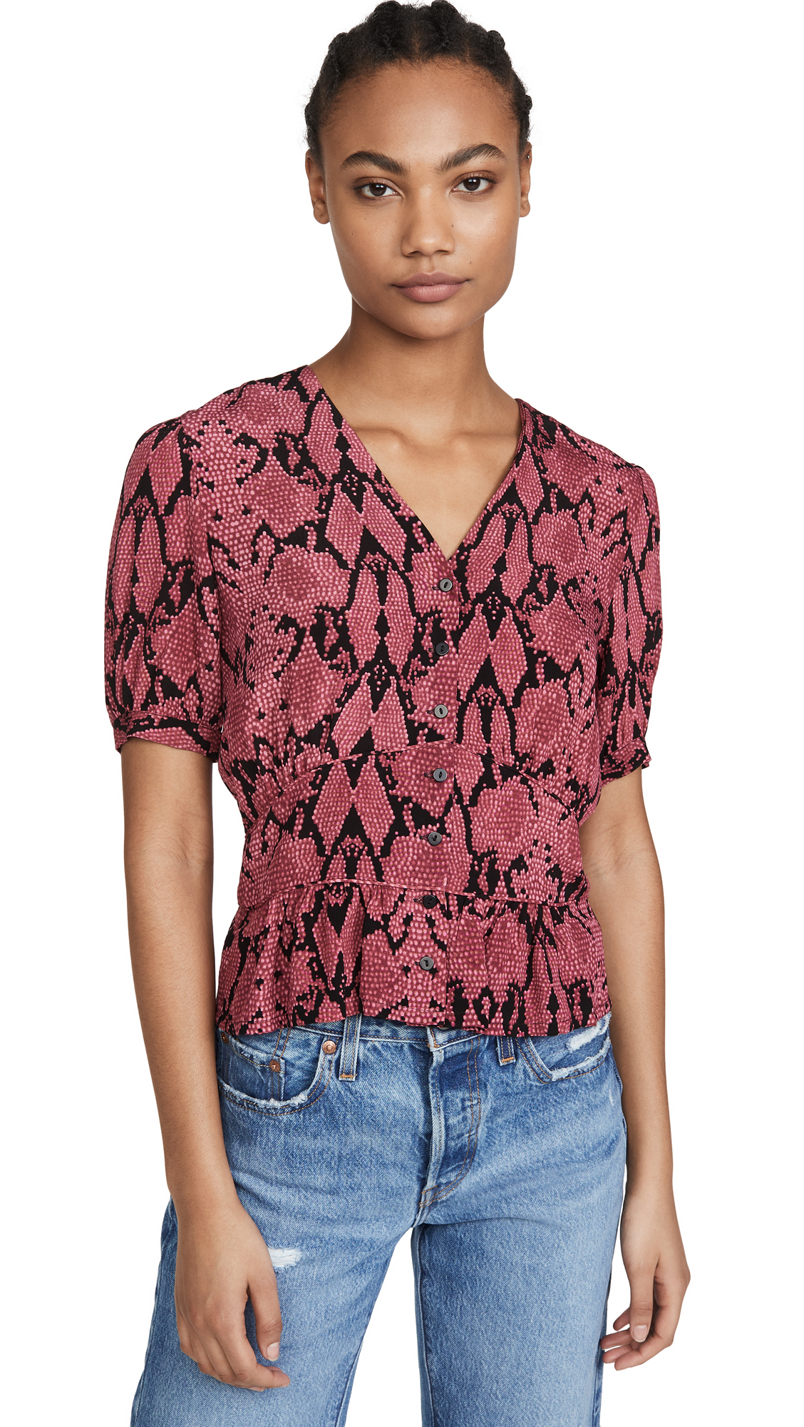 Buy Ba & sh online - photo of Ba & sh Cleo Top