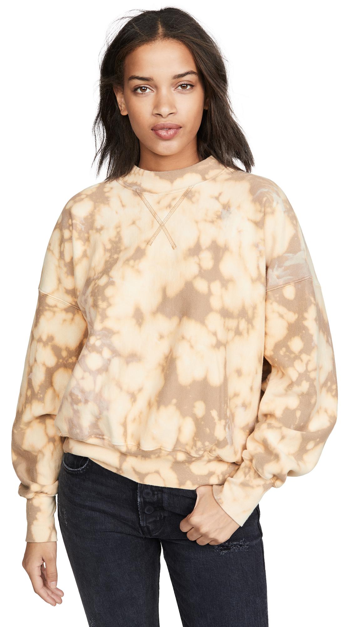 Buy Bassike online - photo of Bassike Motely Fleece Sweatshirt