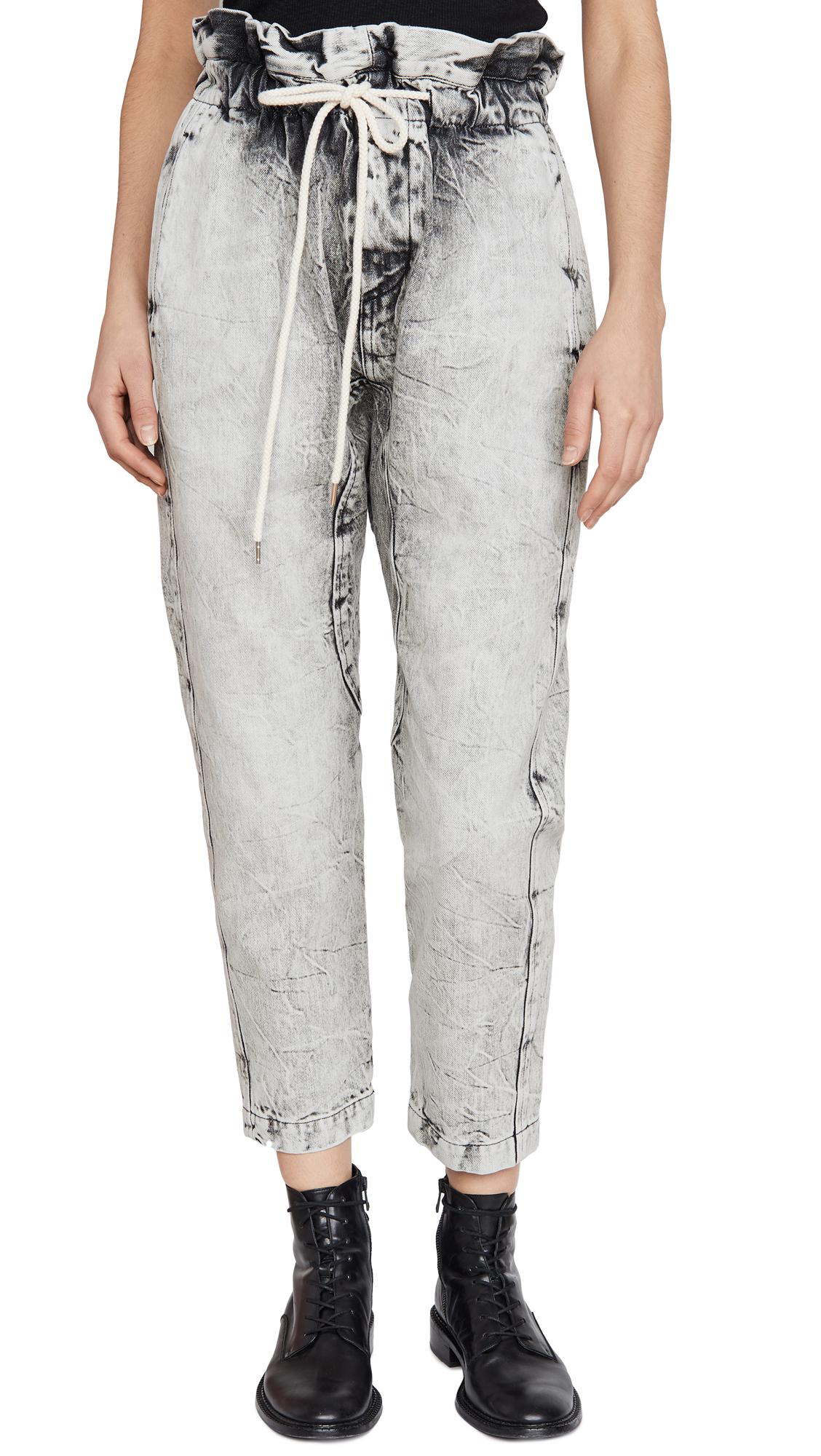 Buy Bassike online - photo of Bassike Denim Paperbag Pants