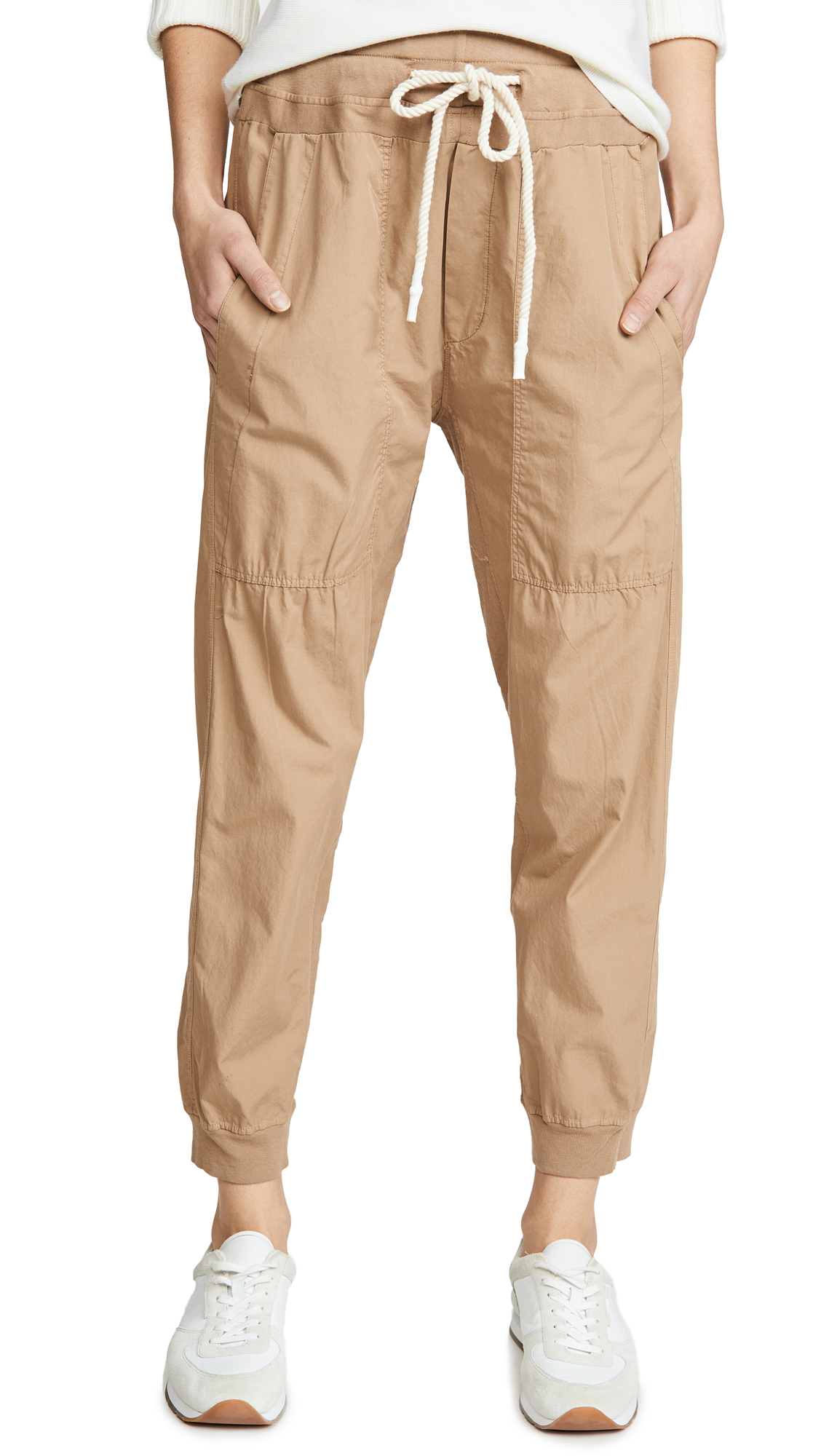 Buy Bassike online - photo of Bassike Utility Cotton Jersey Pants