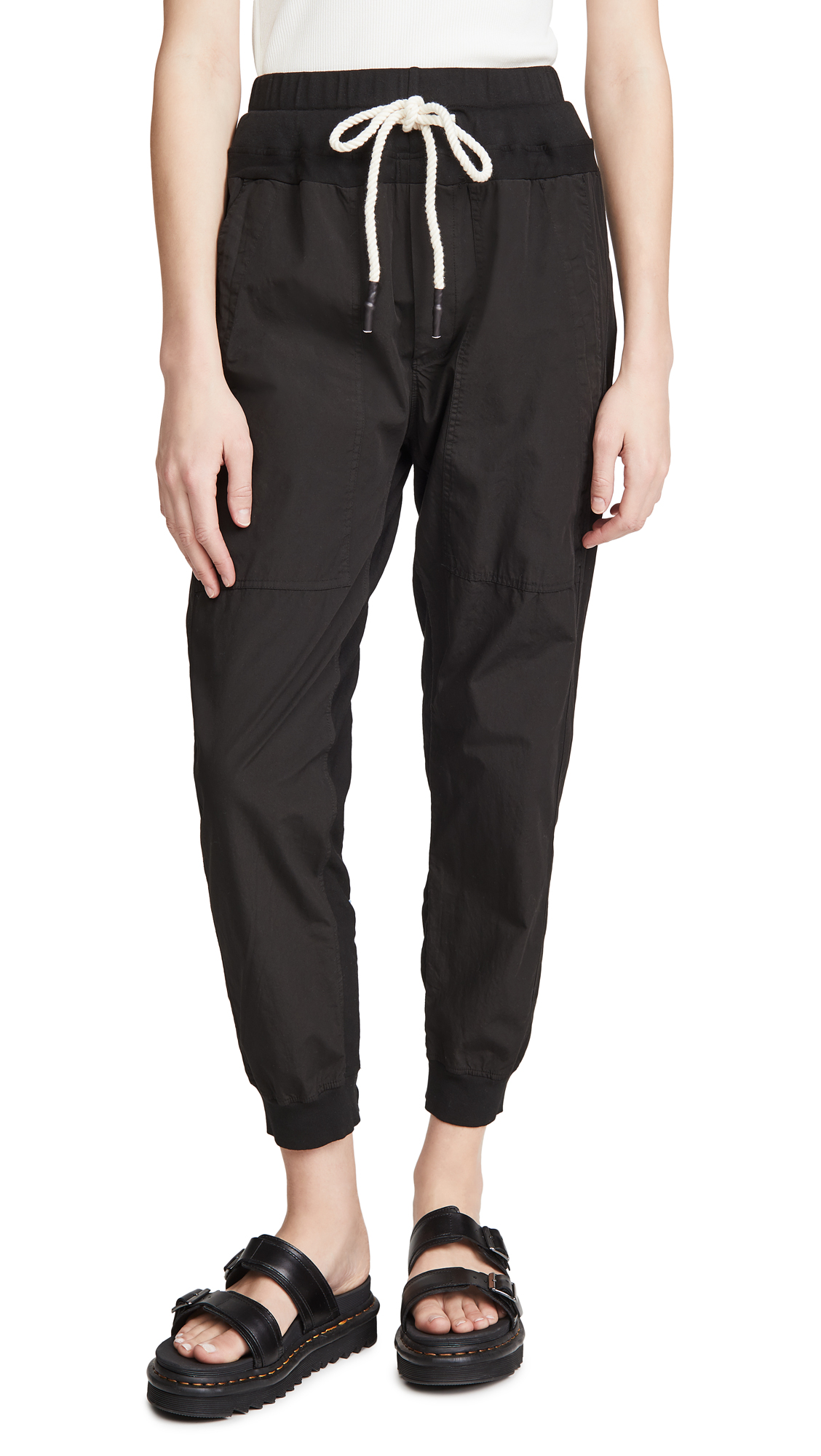 Bassike Utility Cotton Pants
