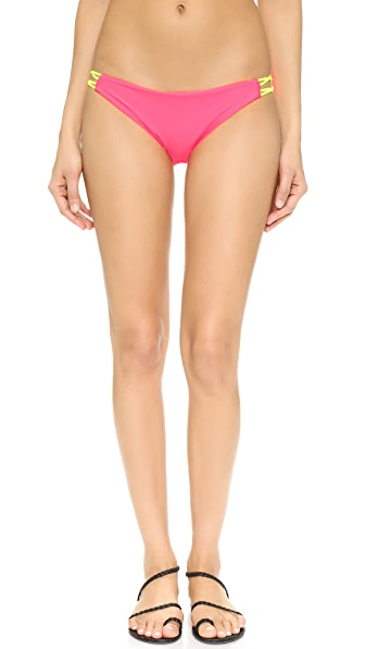 Basta Surf Zunzal Reversible Bikini Bottoms - Hot Pink at Shopbop