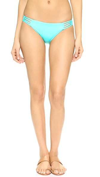 Basta Surf Aroa Reversible Bikini Bottoms - Turqoise at Shopbop