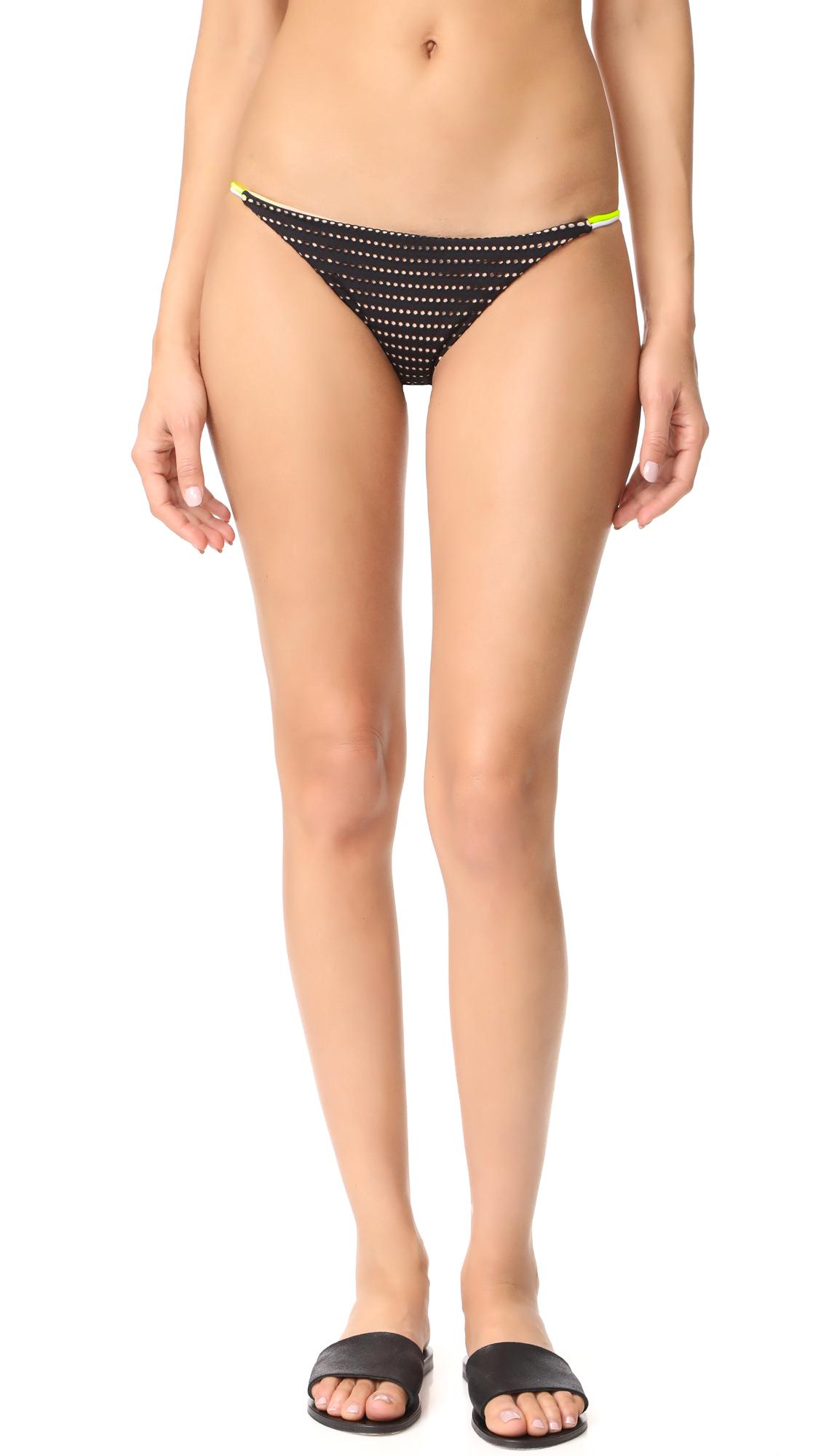 Basta Surf Crisana Reversible Bikini Bottoms - Nero/Blush