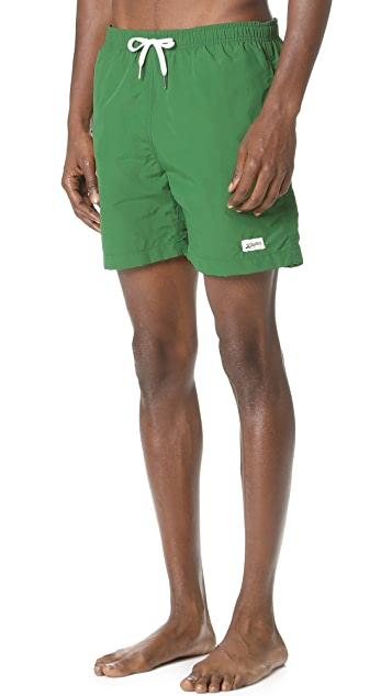 Bather Solid Swim Trunks