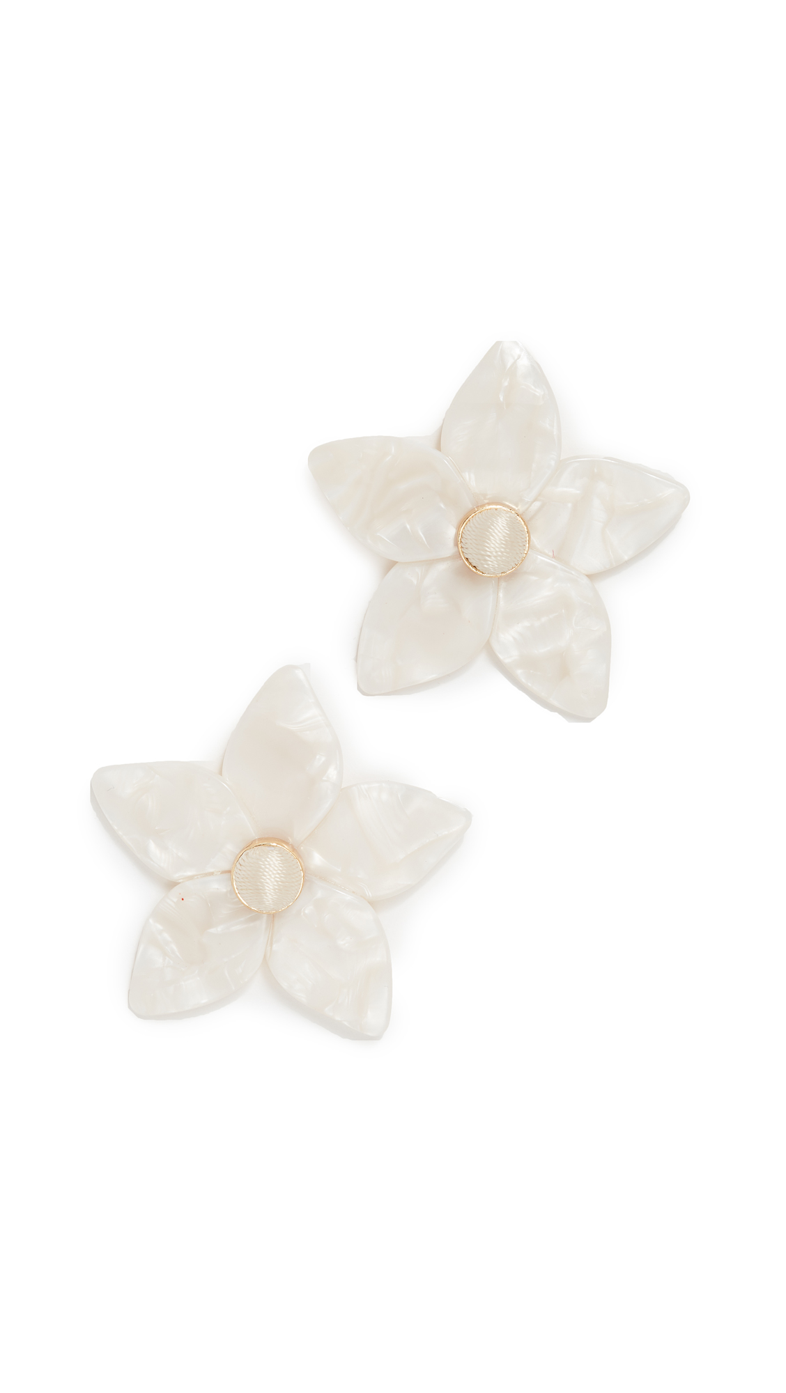 product flower earrings shopperboard mj stud coin big