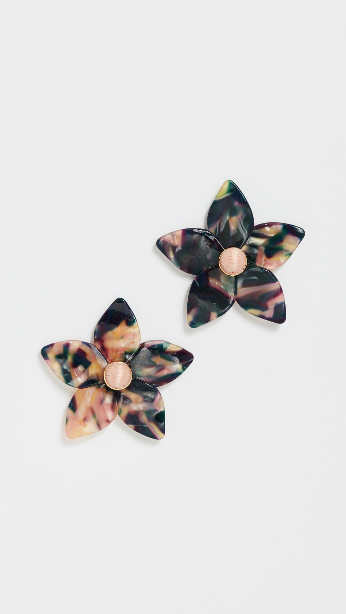 spring and structured love for these simple baublebar earrings the sweet summer amariella statement flower big stud pin
