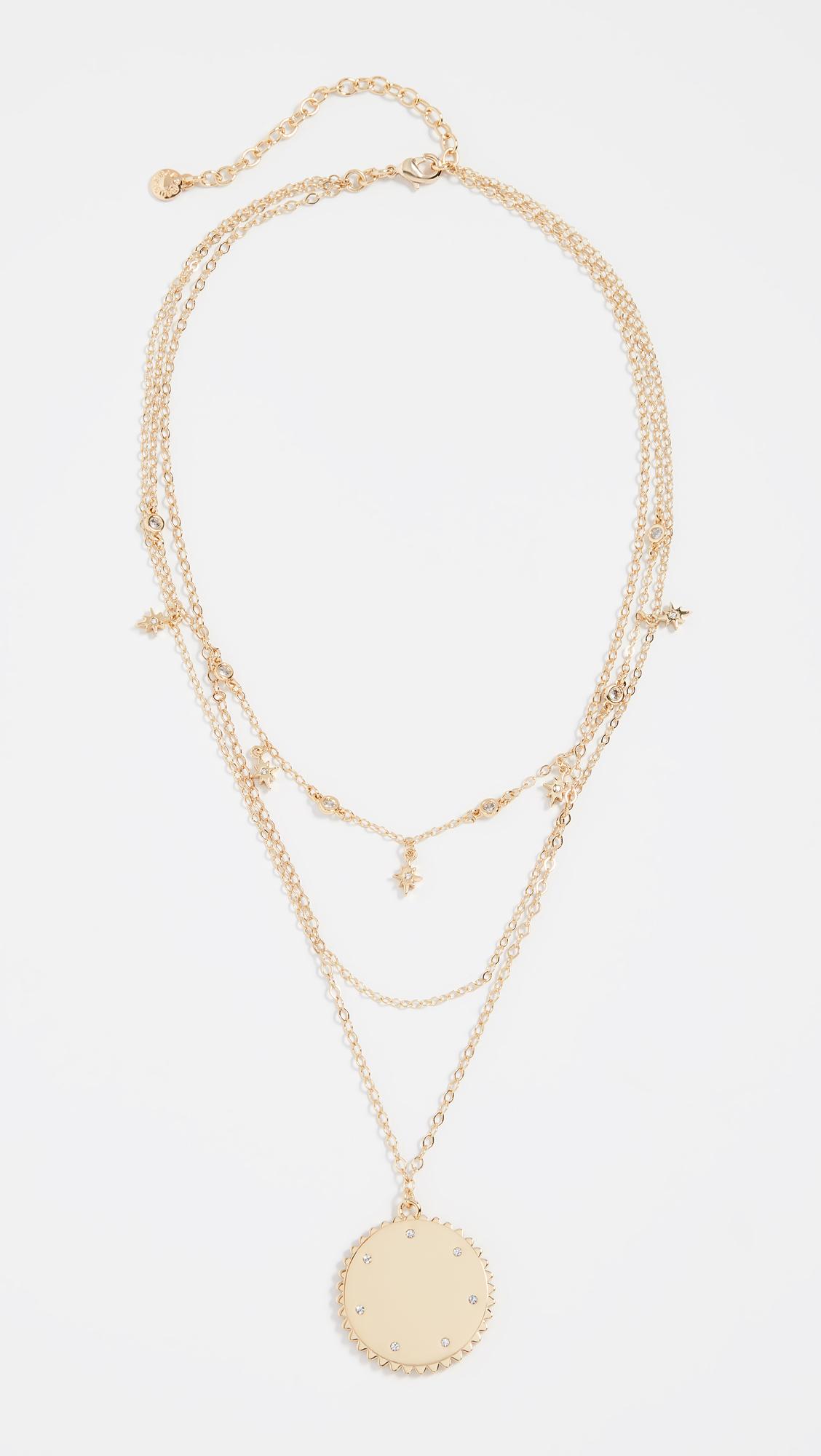 BaubleBar Andromeda Layered Pendant Necklace | SHOPBOP
