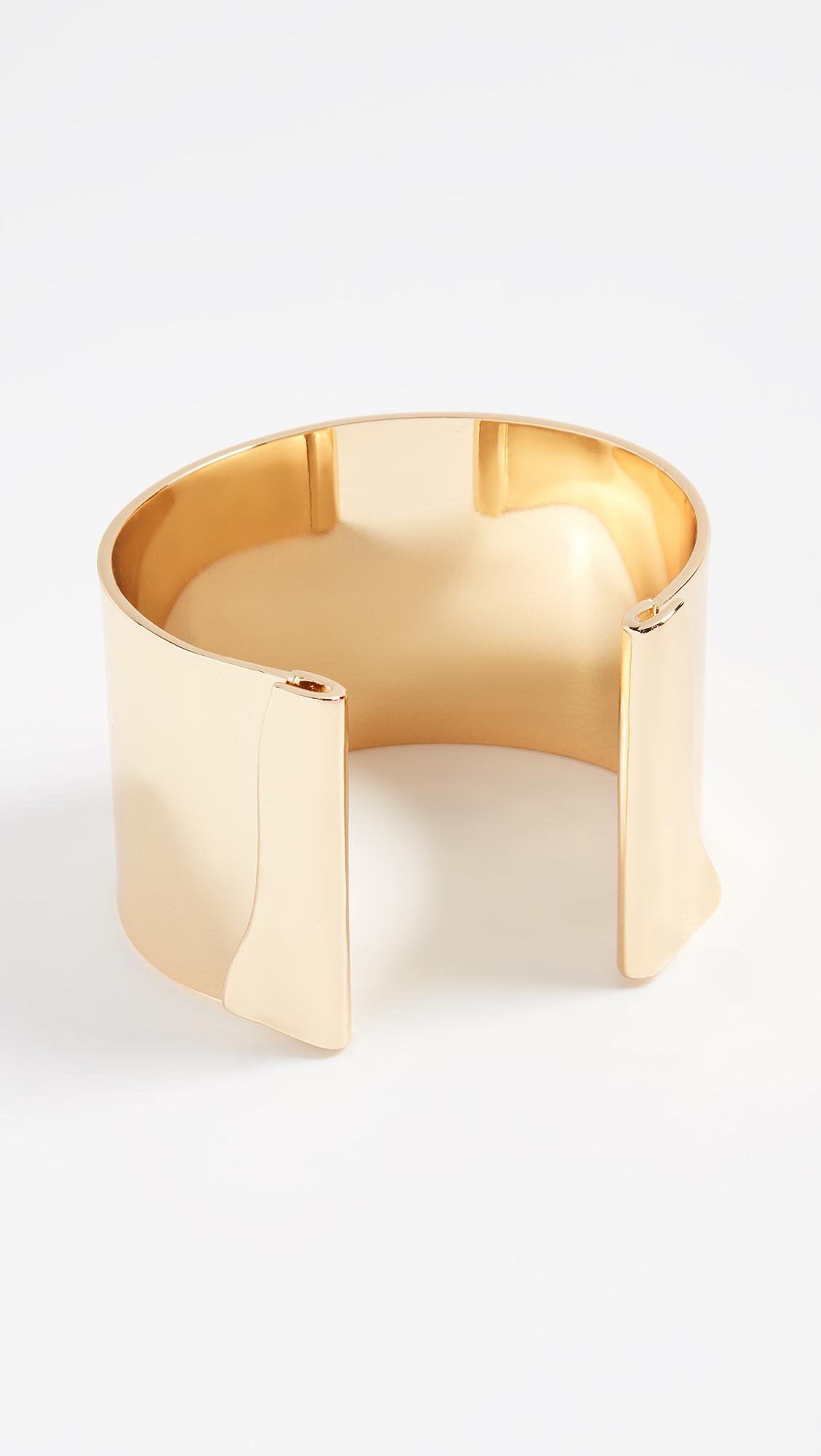 BaubleBar Geo Metal Cuff Bracelet NitYjc