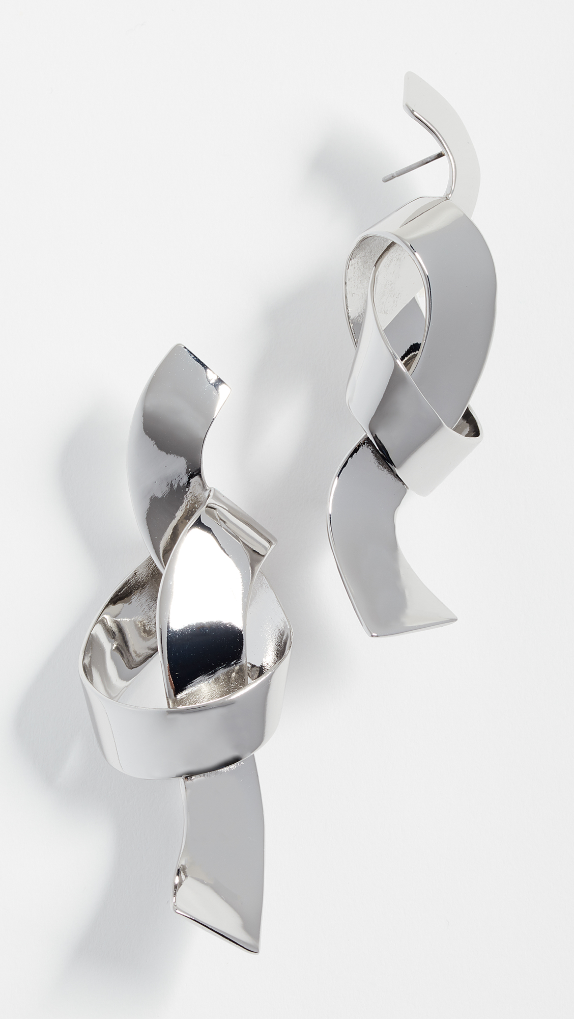 BaubleBar Geo Metal Knot Earrings feVIAGcTU