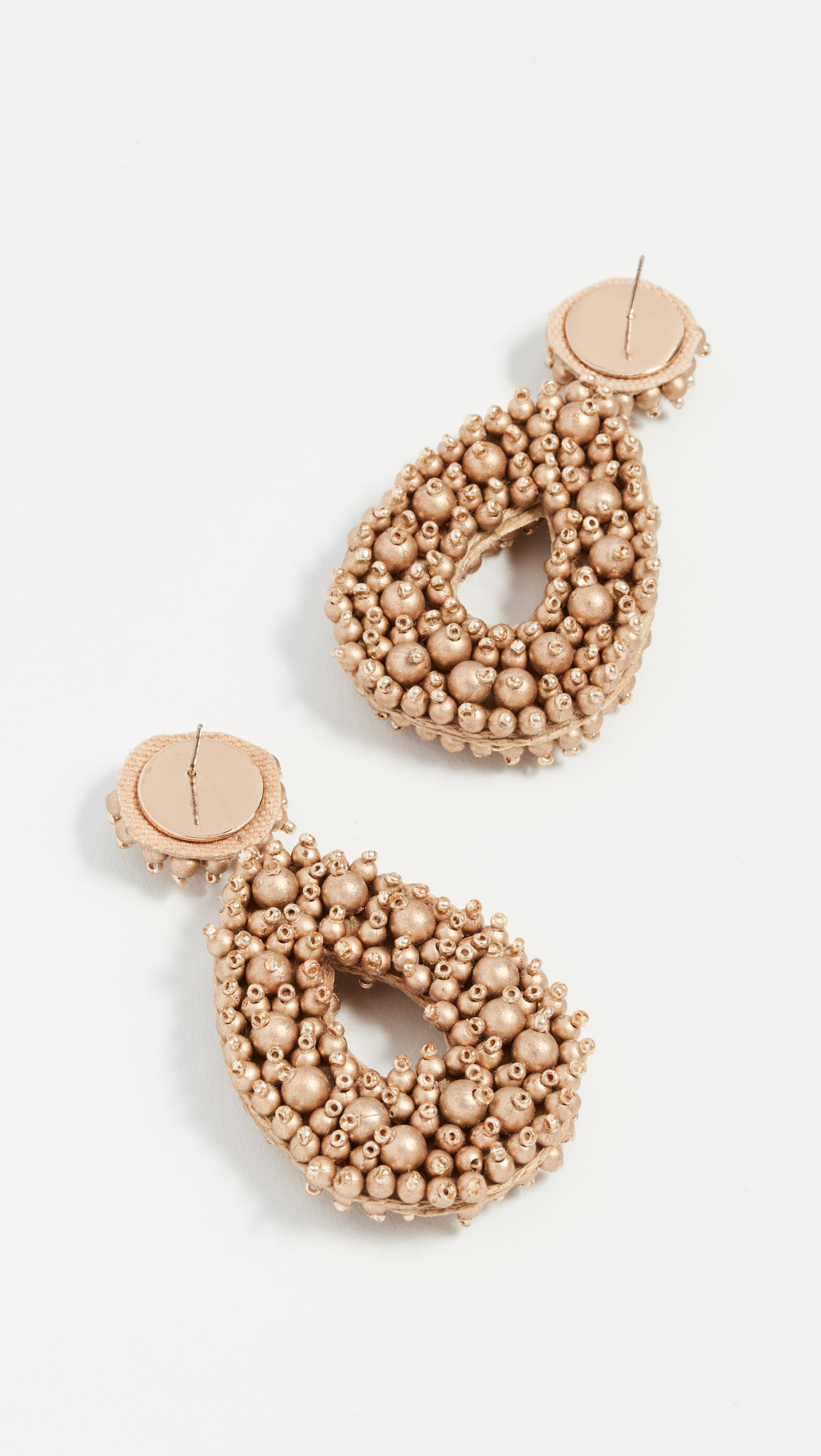 BaubleBar Fully Beaded Oval Earrings SuVTe0s3U