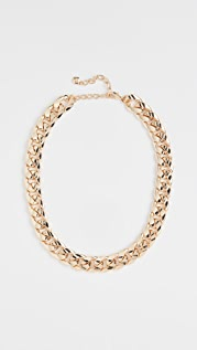 BaubleBar Michaela Curb Chain Necklace