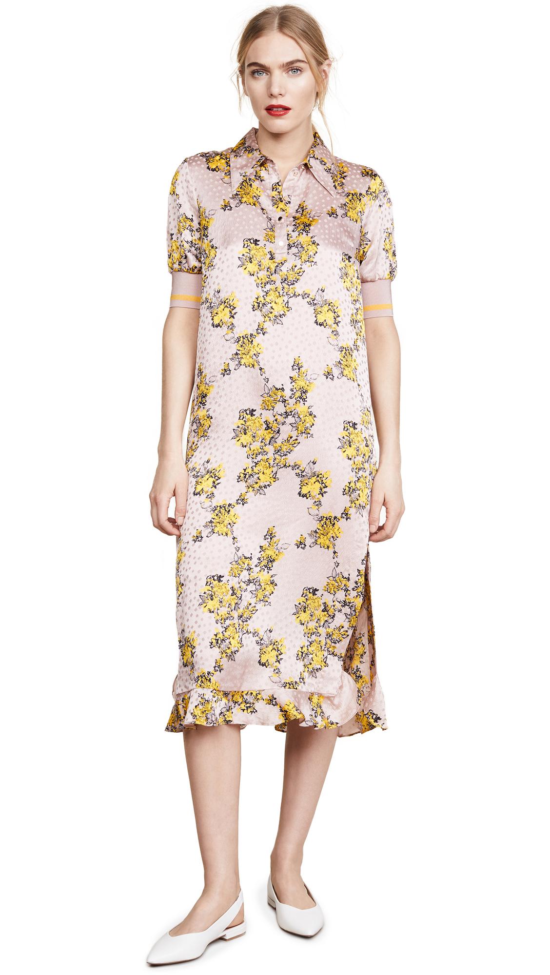 BAUM UND PFERDGARTEN Aksinja Dress In Yellow Splash