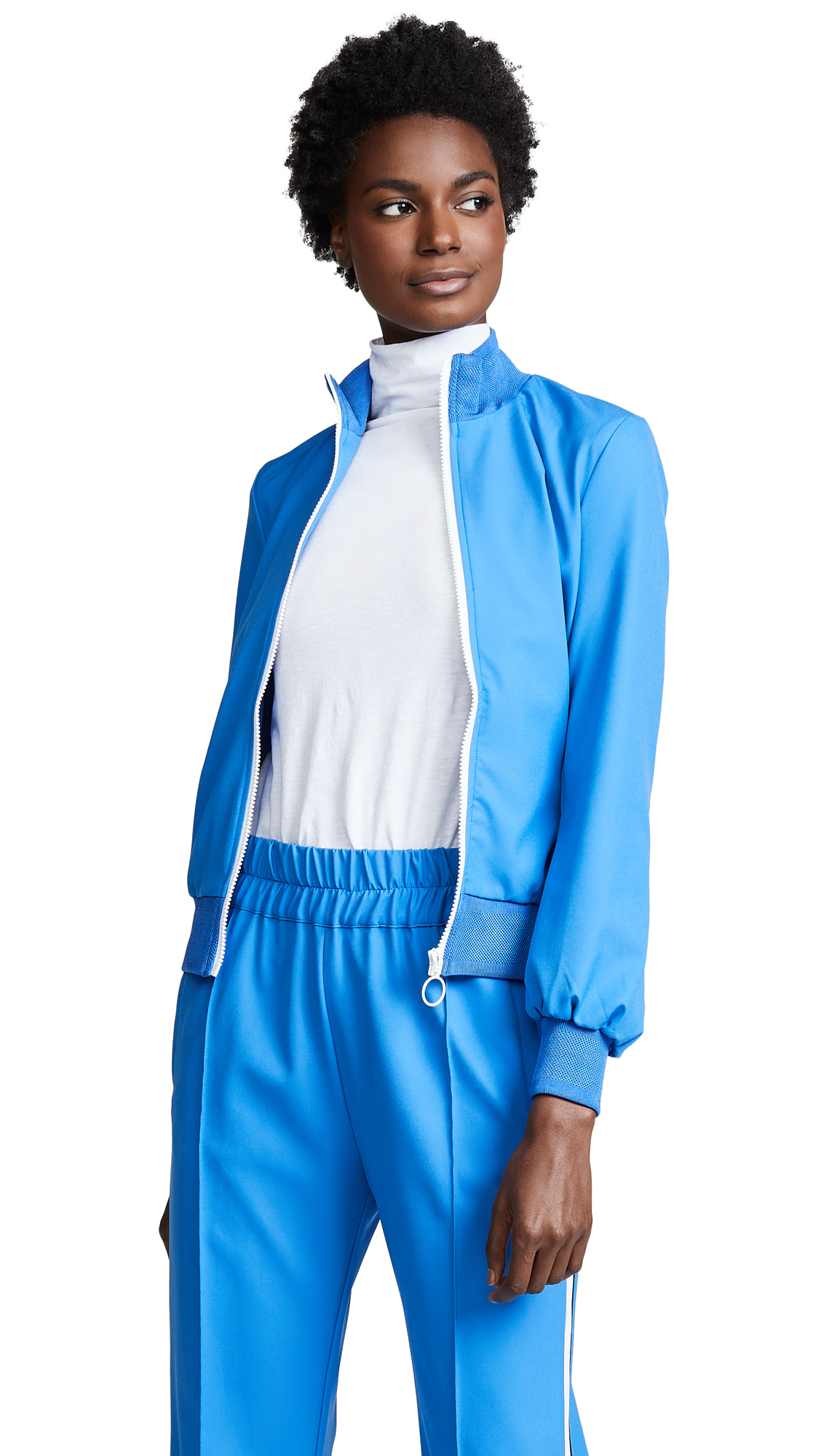 BAUM UND PFERDGARTEN Jani Track Jacket In Campanula Blue