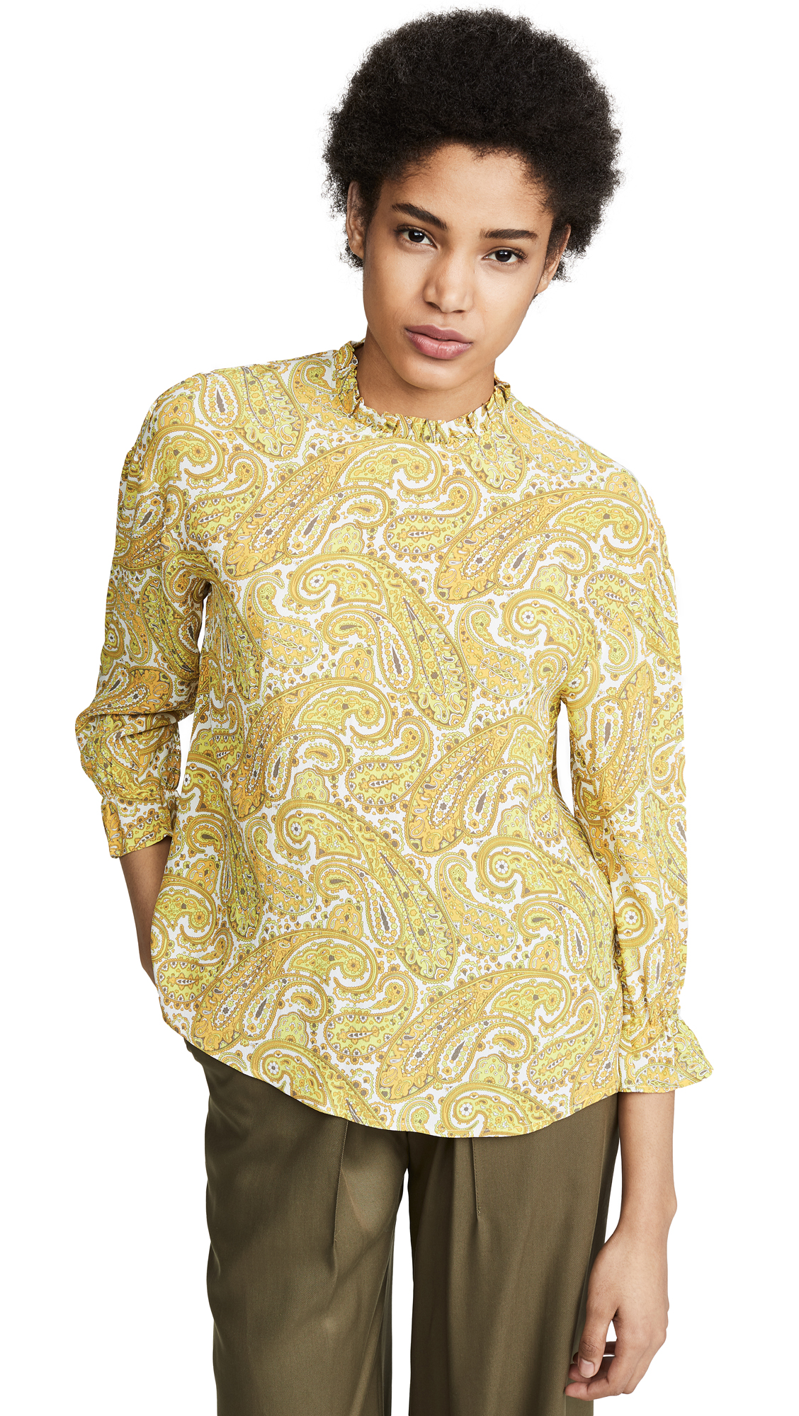 Buy BAUM UND PFERDGARTEN online - photo of BAUM UND PFERDGARTEN Matrika Blouse